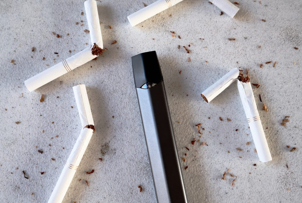Smoking continues to decline among young people